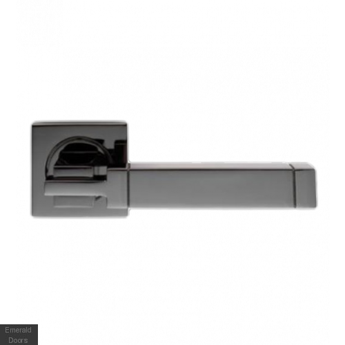 Cube Black Nickel Lever