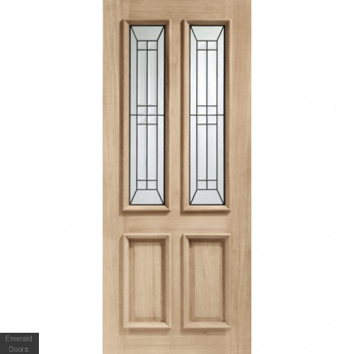 Malton Diamond Oak External Door
