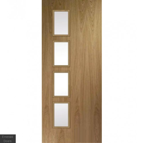Bespoke Oak Fire Door Model HBO1