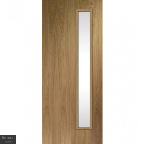Custom Made Oak Fire Door HBO5