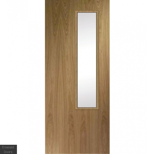 Unique Fire Door : Custom made oak design hbo fully lacquered bespoke fire