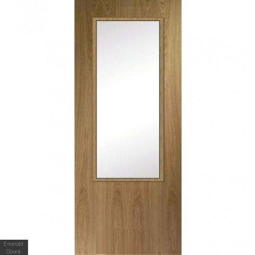 Custom Made Oak Fire Door HBO7