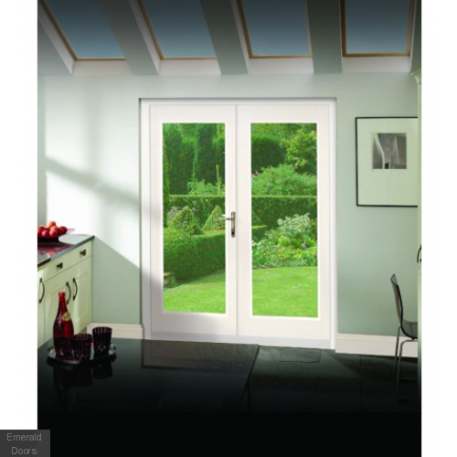 Buy La Porte 4ft White French Doors Fully Finished