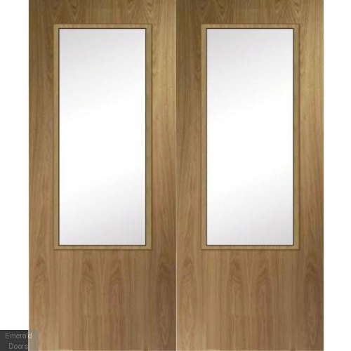 Unique Fire Door : Fire door hbo oak pair custom made emerald doors