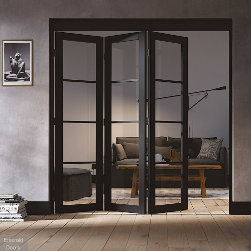 Soho Folding Door System Folding Industrial Style Door