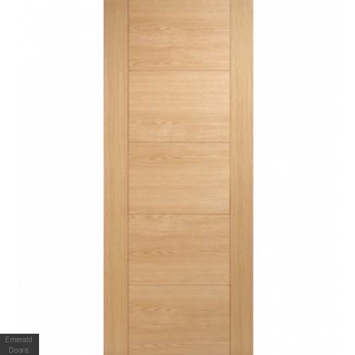 Contemporary Oak 6006 Internal Fire Door