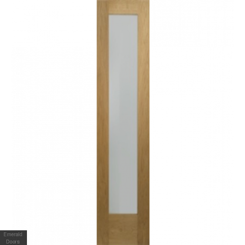 "Oak Pattern 10 Sidelight 78"" x 23"""