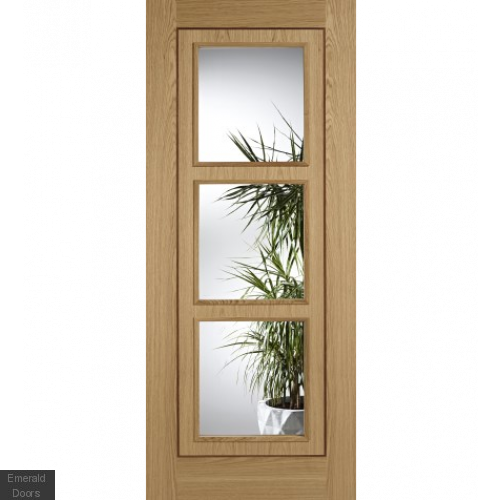 Contemporary Inlay 3L Clear Glazed