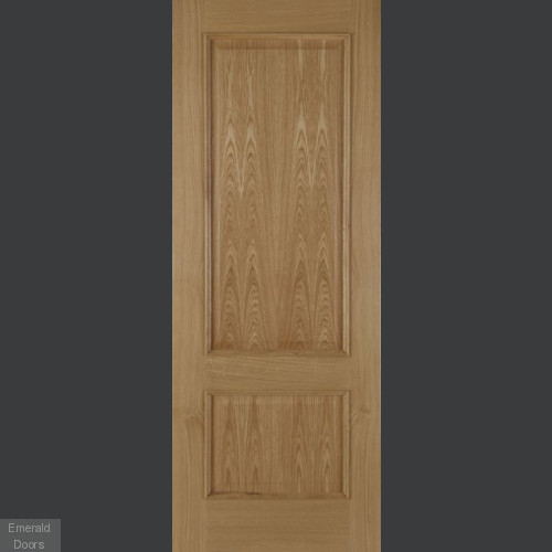 Iris Oak 2 Panel Internal Fire Door