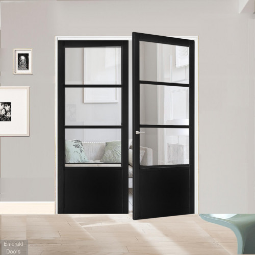 Industrial Style WK0136C Custom Made French Doors