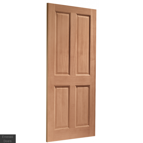 London Hardwood External Door