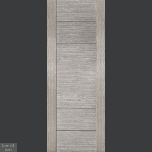 Corsica Light Grey Fire Door