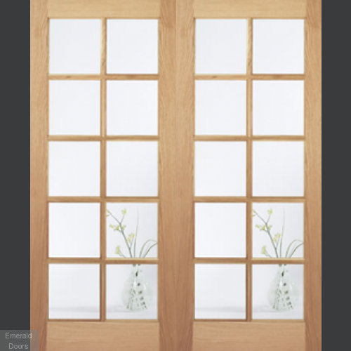 Elegance SA 10L Clear Glazed Door Pair