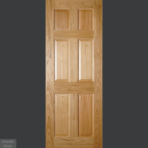 Oxford Oak Fire Door Fully Finished