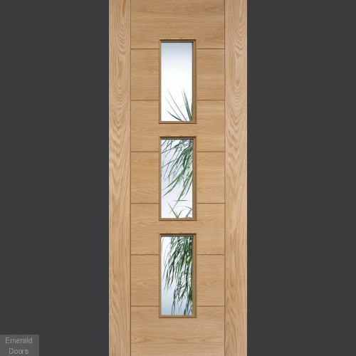 Hampshire Glazed Oak Door