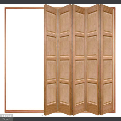 5 Leaf Oak Bardsley 4 Panel Bi-Folding Set
