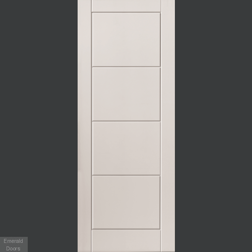 Quattro White Fire Door