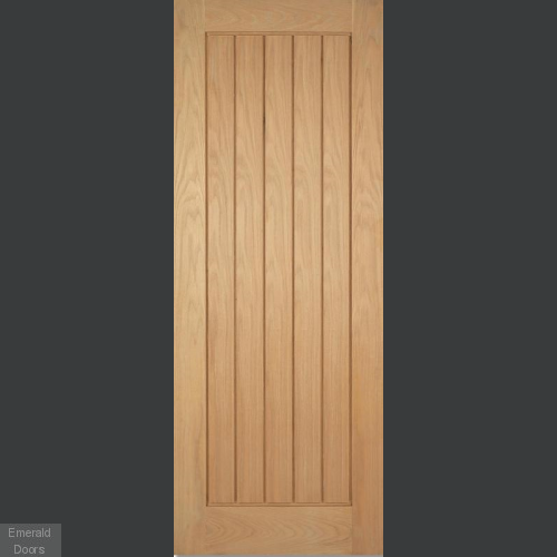 GRP Oak Mexicano Composite External Door