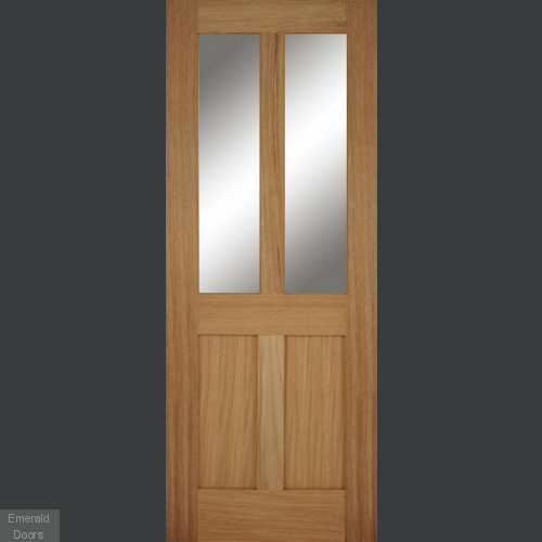 Bristol Oak 2 Light Internal Door