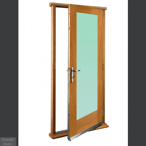 Pattern 10 With Clear Glass Doorset