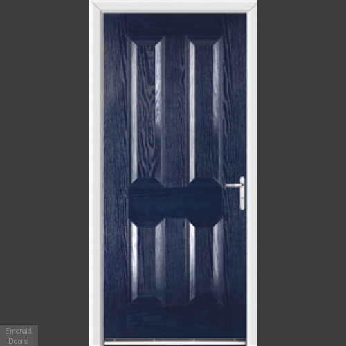 Richmond Blue External Fire Doorset