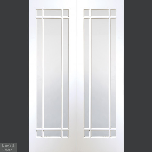 Cheshire Glazed French Doors with Glazing Bars