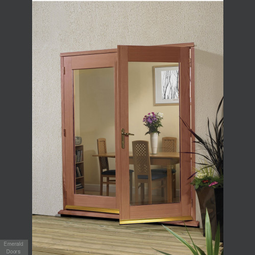 La Porte Hardwood 5ft French Doors