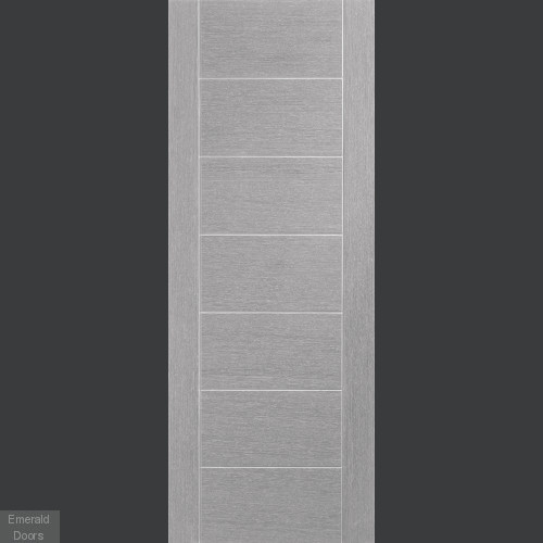 Palermo Light Grey Fire Rated Pocket Door System