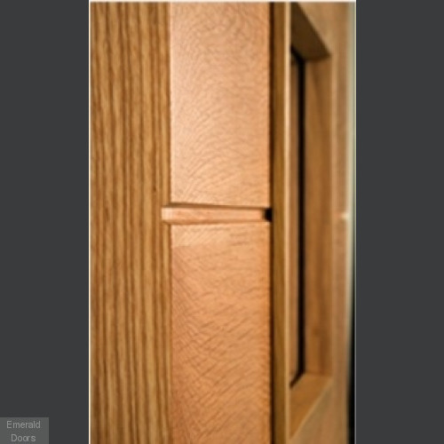 Augusta Oak Glazed Internal Door