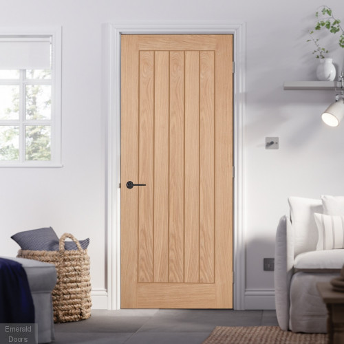 Belize Oak Internal Door Fully Finished