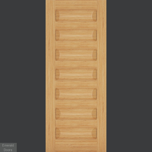 Biarritz Oak 7 Panel Fire Door