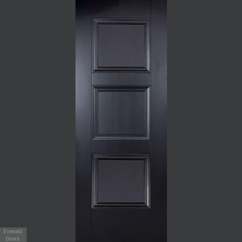 Amsterdam 3 panelled Black Room set