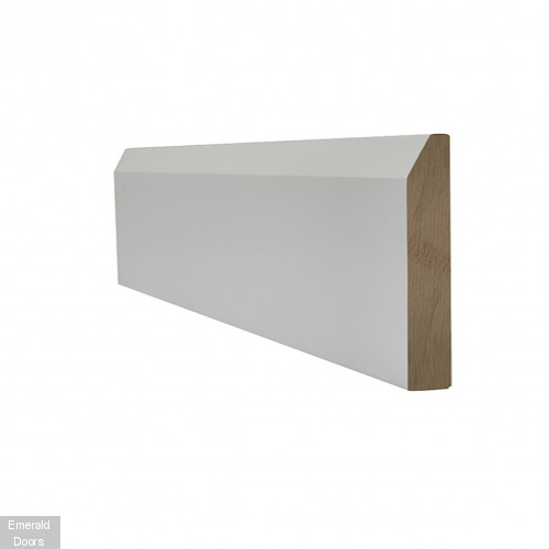 White Chamfered Skirting