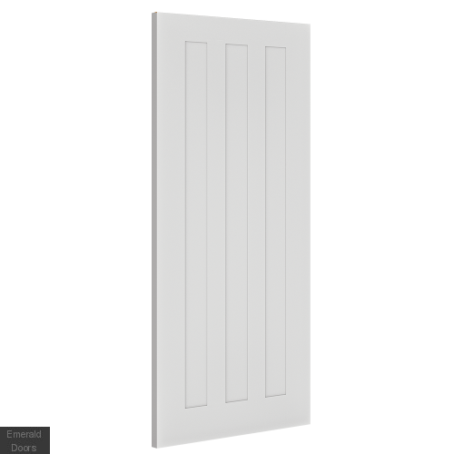 Chester 3 Panel White Interior Fire Door