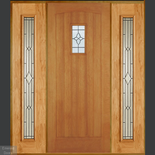 Cottage Oak Black Grand Entrance Style 2