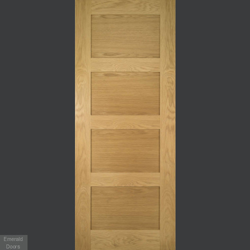 Coventry Internal Oak Fire Door Fully Finished