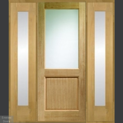 2XG Oak Grand Entrance Door Set