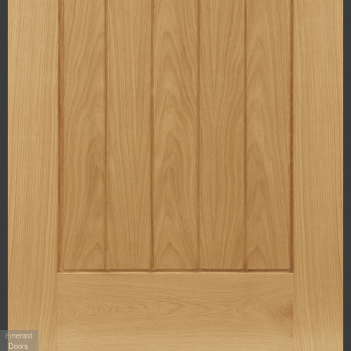 Ely Oak Glazed Door