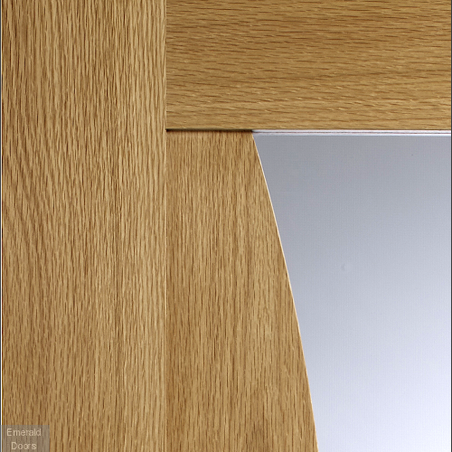 Emilia with Clear Glass In Roomset