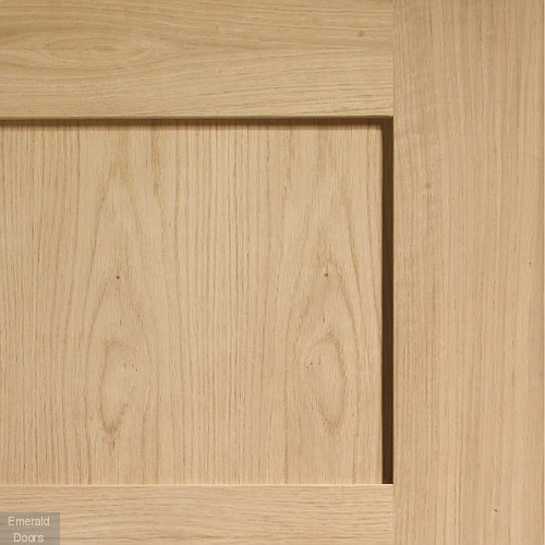 Shaker 4 Panel Internal Oak Door In Situ