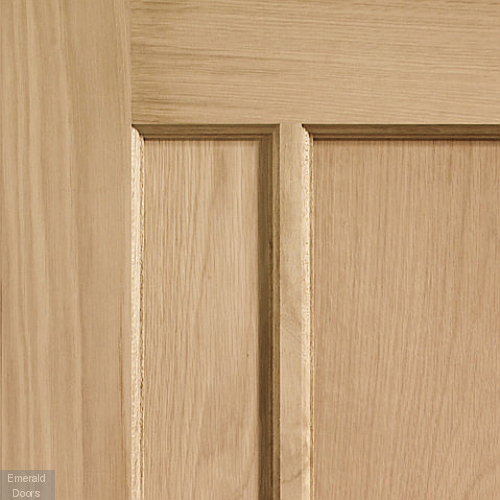 Worcester Unfinished Oak Internal Door