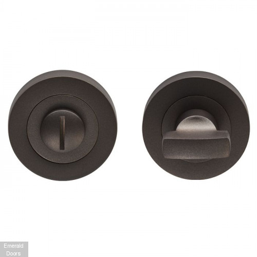 Varese Matt Bronze Bathroom Thumbturn & Release