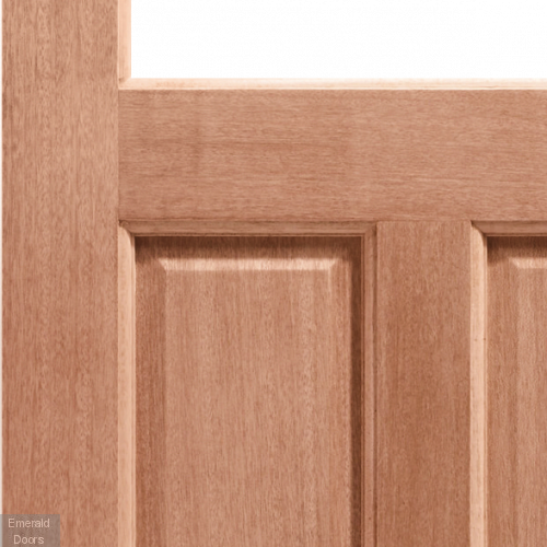 2XG Hardwood Dowelled Unglazed External Door