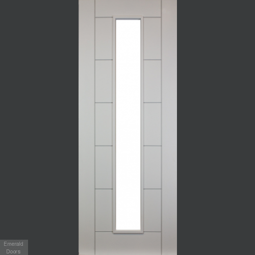 Seville White Unglazed Fire Door