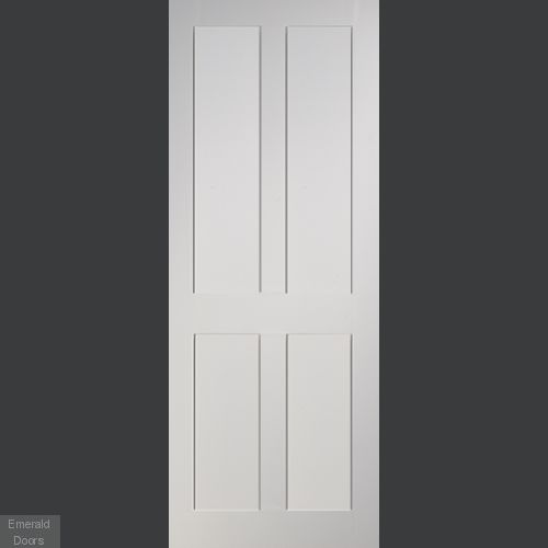 Eton White Fire Rated Door