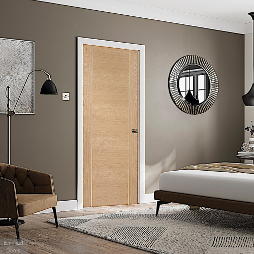 Forli Oak Fire Door