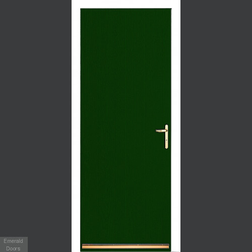 Green Tongue and Groove External Fire Door Set