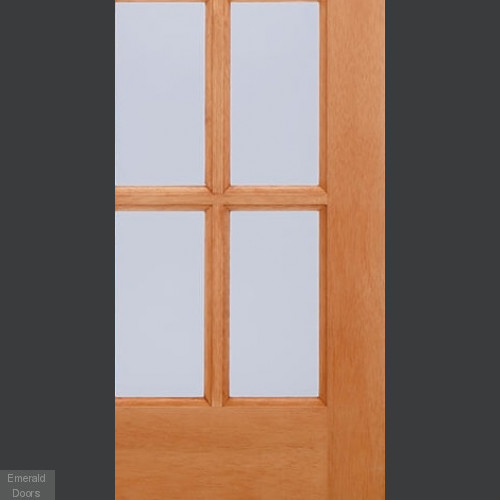 SA77 15 Light Double Glazed External Door with Clear Glass