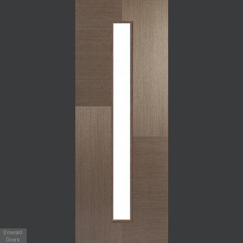 Chocolate Grey Hermes 1 Light Glazed Door