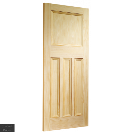 Vertical Grain Vine DX Pine Internal Door